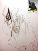 karakalem john wayne resmi eski siyah beyaz film karesinden bakılarak çizildi kovboy şabkası karakalemde keyiflidir zira kötü çizim olma şansı yoktur western çizimlerde j.d hillebery en iyilerdendir.
