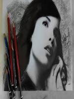 Indila - Dernière Danse,portrait pencils,indıla,ındıla,muzic,image,picrures,drawing,realistic,color,photos,wallpaper,charcola,fusen,desen,şarkıcı,fransız,cezair,karakalem ünlü çizimleri