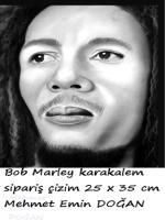 karakalem bob marley portre çizimi,sipariş 25x35 cm ebatta çizilmiştir.izmir .en iyi kara kalem bob marley resimleri,çizimleri,içinden seçilmiştir.kaliteli foto kolay bir çizim olmuşturbob marley the best charcoal portrait drawing, high-resolution photos
