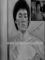 bruce,lee,brucelee,charcoal,pencils,drawing,portrait,en son filmi,dragon,son,sahnesi,Bruce Lee's last film,yayınlamayan,sahneleri,unpublished scenes,prohibited, the most beautiful pencil drawings.Destroy The Image and You Will Break The Enemy