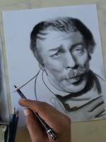 karakalem portre rize belediye başkanı ersin yazıcı çalışması ,hediye amaçlı portre çizimi yapıldı,özel günler,anlamlı gün için kalıcı,unutulmaz ve atlmaz bir hediye seçeneği kişiye özel kara kalem portre çalışmaları yapılır.