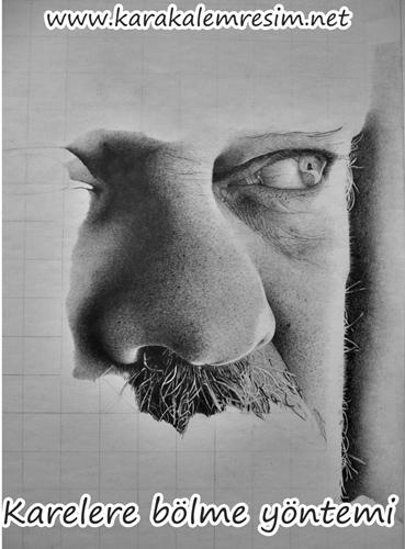 Karakalem Portre çizimin Püf Noktaları Aşamalarımalzemeleri